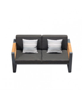 Outdoor 2 seater sofa -...