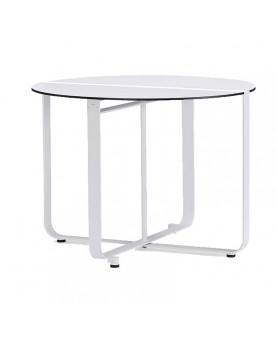 Foldable round dining table...