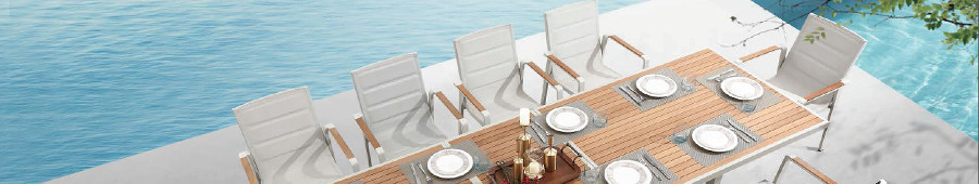 Luxury outdoor tables and chairs - Olkool -