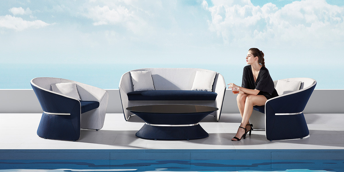 Mobilier outdoor Bold by Pininfarina